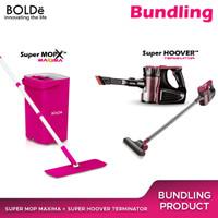 Bundling Set Bolde Super Hoover Terminator + Supermop Maxima