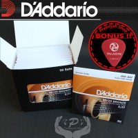 Daddario EJ 10 0.10 Senar Gitar Akustik String ORI Original Dadario