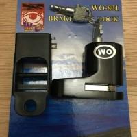 Kunci Disk WO Gembok Pengaman Motor cakram Murah Terlaris Universal