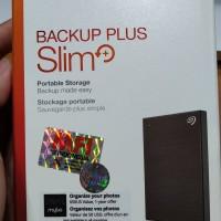 Harddisk Eksternal SEAGATE Backup Plus Slim 1 TB