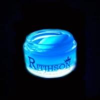 POMADE MERK RITJHSON GLOW IN THE DARK BLUE FREE SISIR