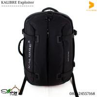 Tas Harian / Duffel / Backpack Laptop 2 in 1 Kalibre Exploiter