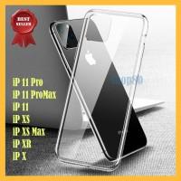 Clear Case iPhone 11 Pro Max X XS XR Soft Casing Bening Transparan