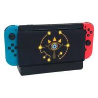 Nintendo Switch dock Case / Sarung Dock Zelda New Sheikah Black