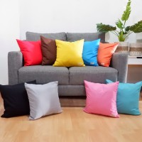 Cushion Cover Katun Polos / Sarung Bantal / Bantal Sofa / Bantal Hias