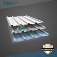 Alderon RS Atap uPVC Single Layer Gelombang Trimdeck