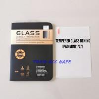 "TEMPERED GLASS KACA BENING/CLEAR IPAD MINI 1/2/3 (7.9"") TERMURAH"