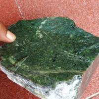 Rough Nephrite jade 3,4kg Giok Aceh