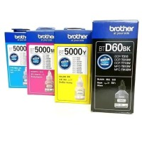 Tinta brother BT 6000 & BT5000 1 set/ 4 pcs for DCP T310 T510W MFCT810