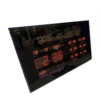Jam Adzan Digital Sholat Otomatis 6 Waktu Azan Dinding Besar 4622-Y2