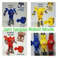 Jam tangan robot tobot merah biru kuning