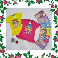 DRS Kaos Tunik Anak Perempuan Oshkosh LOL Series Premium