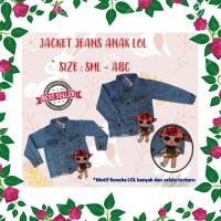 DRS PALING DICARI Jaket Anak Soft Jeans LOL Surpise Premium