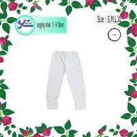 DRS Legging Anak 3- 8 Tahun Putih Yasta Fashion Kids