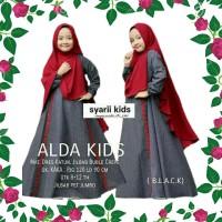 DRS Alda Kids Gamis Syari Anak Perempuan Baju Muslim Anak