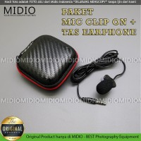 Midio Microphone Clip On Plus Tas Microphone Vlogging Livestreaming