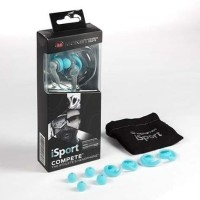Monster iSport Compete In Ear Headset Headphone Earphone Sport