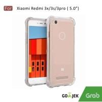 Softcase Anti crack Casing for Xiaomi Redmi 3s / 3pro - Clear