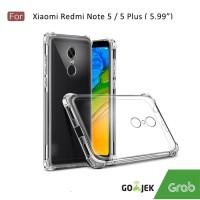 Softcase Anti crack Casing for Xiaomi Redmi 5 plus - Clear