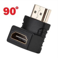 HDMI Adapter Male to Female L Shape Up Down 90 derajat