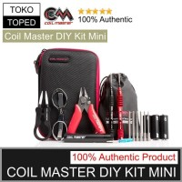 AUTHENTIC VAPE COIL MASTER DIY KIT MINI | TOOL TANG TWEEZER OBENG TAS