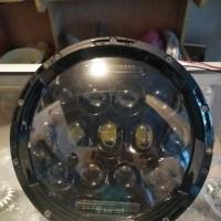 Headlamp daymaker led 7 inci spider W175 Royal enfield dan rubicon