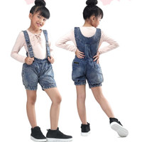 overall jeans celana pendek levis setelan/baju kodok anak perempuan