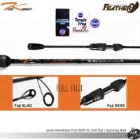T Kamikaze FEATHER TKFS 692 UL 2-8 LB Full Fuji | Drag 7 kg Spin Rod