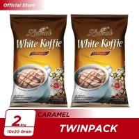 Kopi Luwak White Koffie Caramel Bag 10x20gr Twin Pack