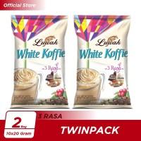 Kopi Luwak White Koffie 3 Rasa Bag 10x20gr Twin Pack