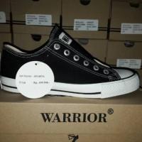 SEPATU WARIOR / SEPATU WARRIOR SPARTA LC BLACK / WHITE