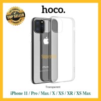 Slim Case iPhone 11 Pro X XS Max XR Silicone Clear Silicon Transparan - X atau XS