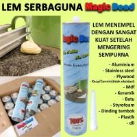 LEM MAGIC BOND/serbaguna/no more nail/lem sealant/kayu metal plastik