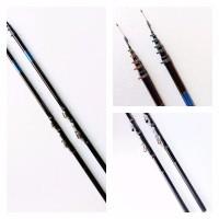 Stik Joran Pancing Fiber Custom Jadi Tegek CURVE DOLPHIN 300cm ORI
