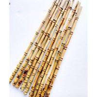 Bambu Cendani Olahan Lurus Gagang Joran Pancing Kolam Besutan Galatama