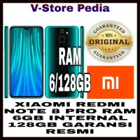 XIAOMI REDMI NOTE 8 PRO 6/128GB RAM 6GB INTERNAL 128GB GARANSI RESMI