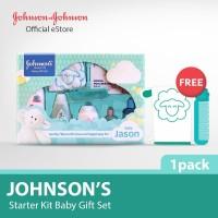 Johnson gift set box/paket peralatan mandi bayi/paket sabun sampo bayi