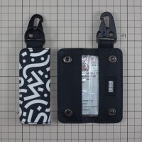 Gantungan Kunci Mobil Motor Carabiner Dompet STNK Slim DS34