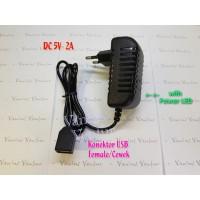 Adaptor 5V 2A USB Female