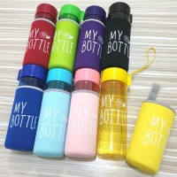 My Bottle + Tali + Free Pouch / Botol Minum 500ml Souvenir H304