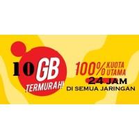 Kartu Perdana Paket data Freedom 10Gb full 100%kuota utama Indosat Im3