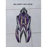 Striping Lis Sticker Motor Yamaha Mio Sporty 2010 Hitam