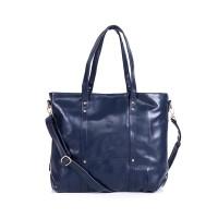 Beauty Gum Tote Bag Zaskia Zipper Navy Blue Basic Semi Ori Plus Tali S