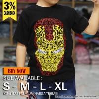 Baju Kaos Anak laki laki Perempuan Kostum Bayi superhero Ironman Batik