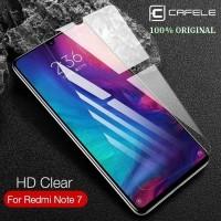 XIAOMI REDMI NOTE 7 CAFELE ORIGINAL TEMPERED GLASS HD 2.5D FULL LEM