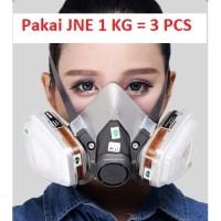 3M Masker Gas Respirator Masker Cat Masker Lab - 6200 3M