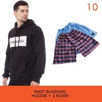Cottonology Paket Bundling B Jaket + 2 Boxer