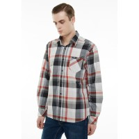 Cotttonology Leon Grey Long Shirt
