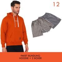 Cottonology Paket Bundling C Jaket + 2 Boxer