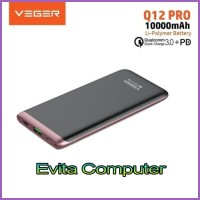 Powerbank Veger Ultimate Q12 10000mAh Quick Charge 3.0 Power Delivery